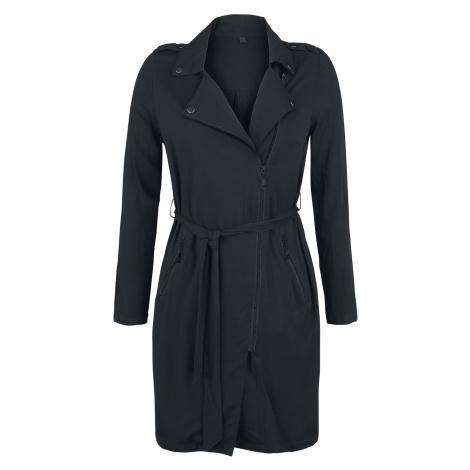 Forplay - Light Trench Coat - Girls coat - black