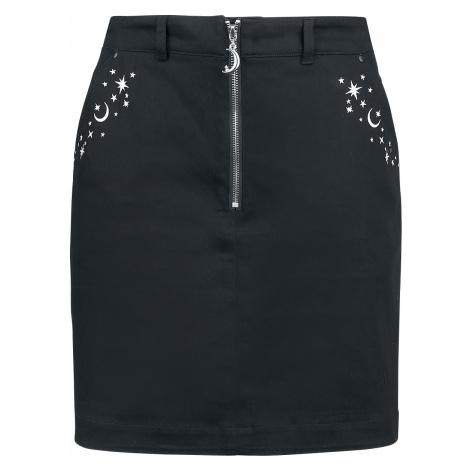 Hell Bunny - Interstellar Mini Skirt - Skirt - black