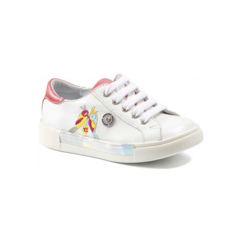 Catimini SYLPHE girls's Children's Shoes (Trainers) in White