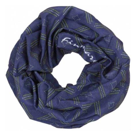 Finmark MULTIFUNCTIONAL SCARF dark blue - Multifunctional scarf