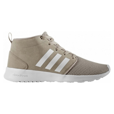 adidas CF QT RACER MID W beige - Women's leisure shoes