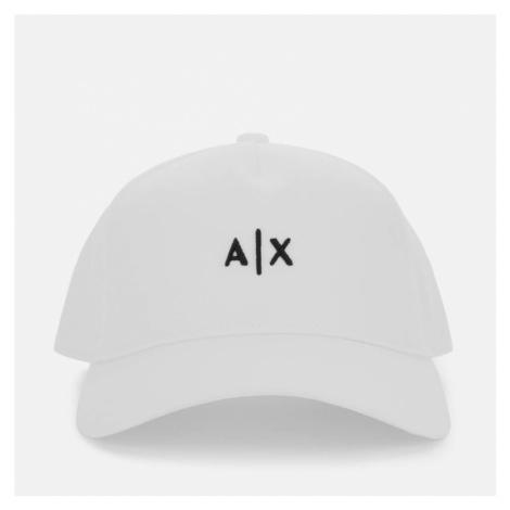 Armani Exchange Men's Small Logo Cap - White