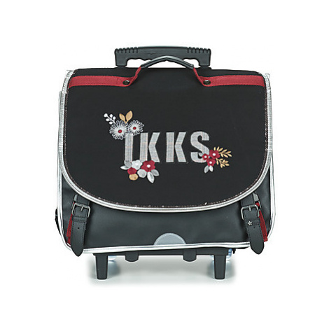 Ikks BLACK TEA TROLLEY CARTABLE 41 CM girls's Children's Rucksack in Black