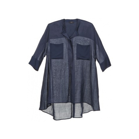 Joseph HEATHER women's Blouse in Blue