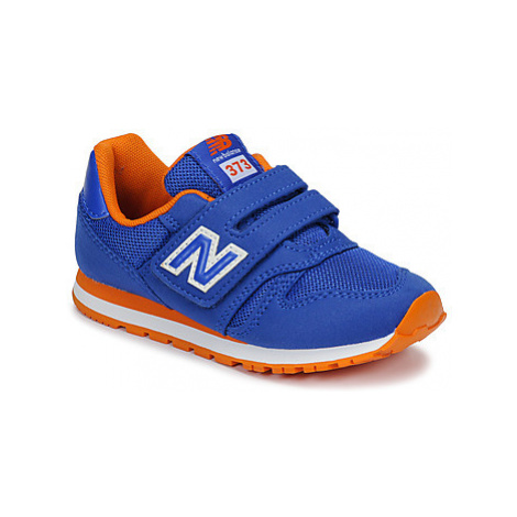 New Balance YV373 girls's Children's Shoes (Trainers) in Blue