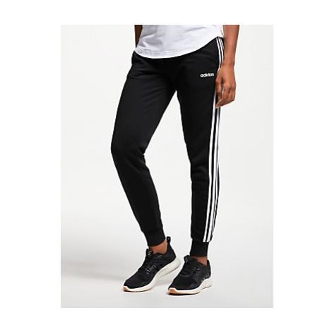 Adidas Essentials 3-Stripes Tracksuit Bottoms, Black