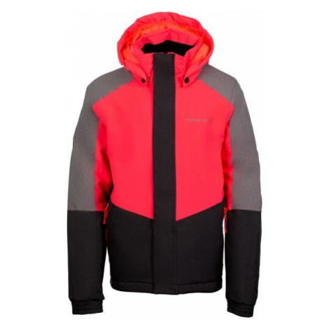 ALPINE PRO RONO pink - Girls' ski jacket