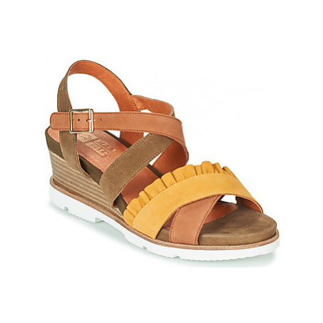 Mam'Zelle HADOL women's Sandals in Kaki