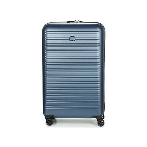 Delsey SEGUR 4DR 78CM men's Hard Suitcase in Blue