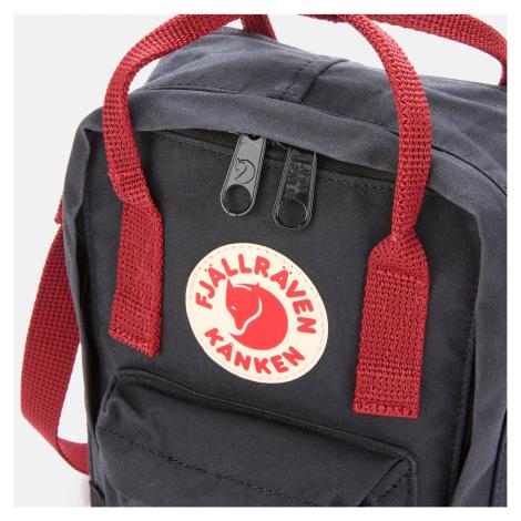 Fjallraven Kanken Sling Bag - Black/Ox Red Fjällräven