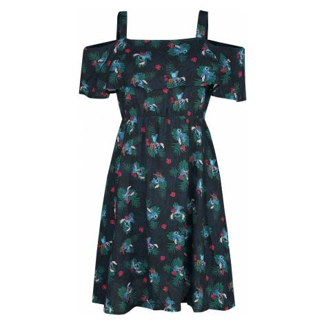 Lilo & Stitch - Jungle - Dress - dark blue
