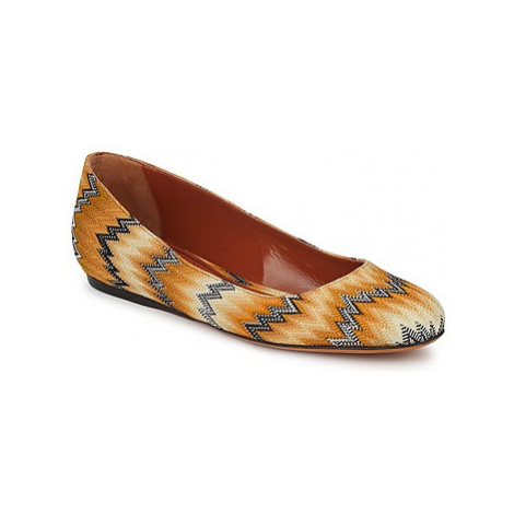 Missoni VM030 women's Shoes (Pumps / Ballerinas) in Yellow