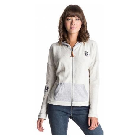 hoodie Roxy La Calling Four Zip - SGRH/Heritage Heather