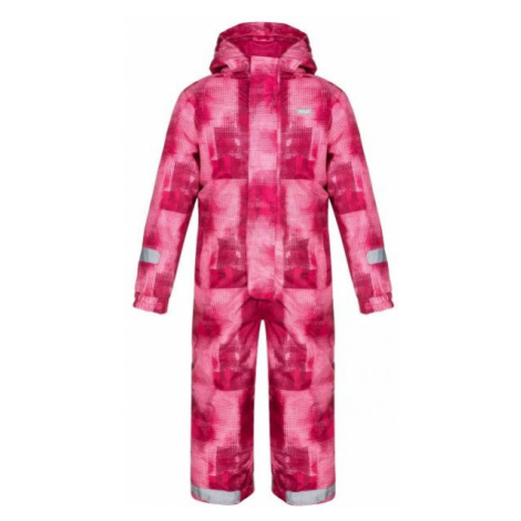 Loap CUSTER pink - Kids' winter overall
