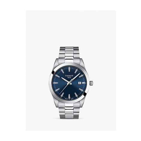 Tissot Men's Gentleman Date Bracelet Strap Watch