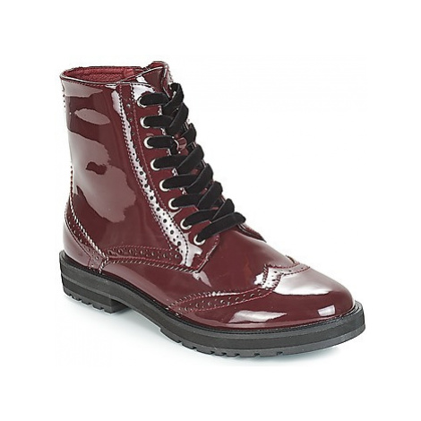 Moony Mood JEKY women's Mid Boots in Red