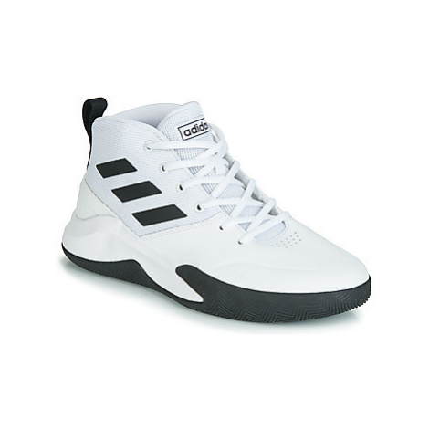 Adidas OWNTHEGAME men's Basketball Trainers (Shoes) in White