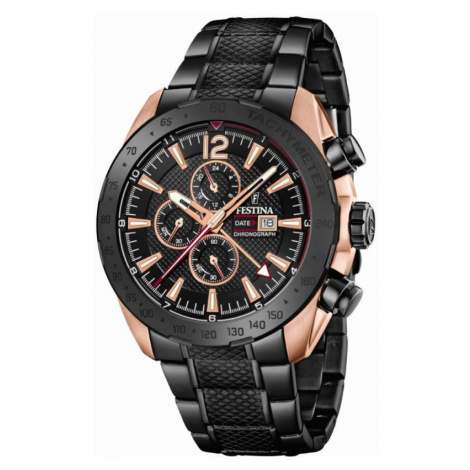 Mens Festina Dual Timer Chronograph Watch