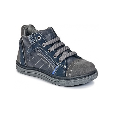 Citrouille et Compagnie HARCO boys's Children's Shoes (High-top Trainers) in Grey