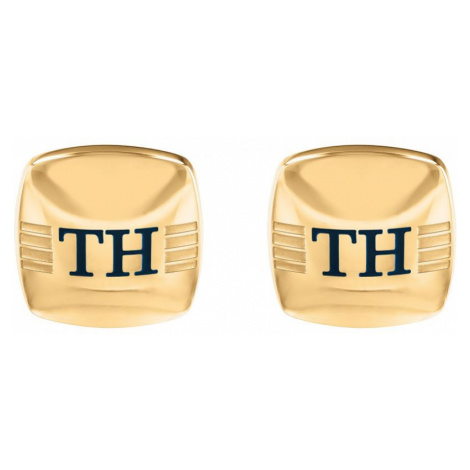 Tommy Hilfiger Stainless Steel Rounded Square Cufflinks