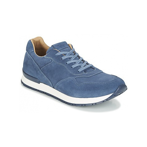 Hackett BYAM SUEDE RUNNER men's Shoes (Trainers) in Blue
