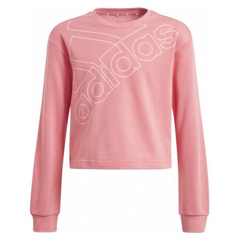 Essentials Logo Graphics Sweatshirt Women Adidas