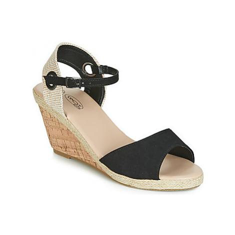 Spot on F2265 women's Sandals in Black