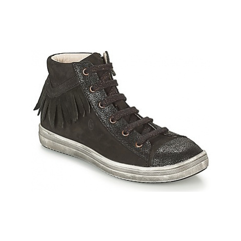 GBB FRANCESCA girls's Children's Shoes (High-top Trainers) in Black