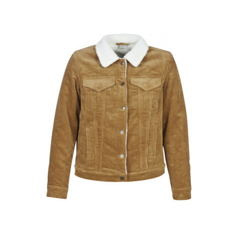 Vero Moda VMMIKKY women's Jacket in Brown