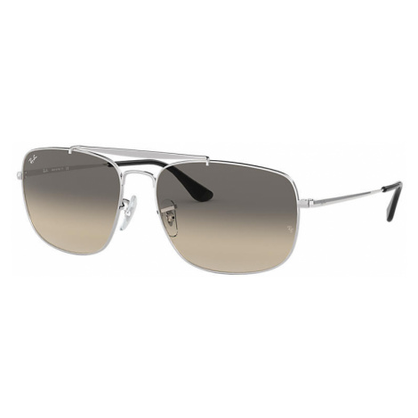 Ray-Ban Colonel Man Sunglasses Lenses: Gray, Frame: Silver - RB3560 003/32 58-17