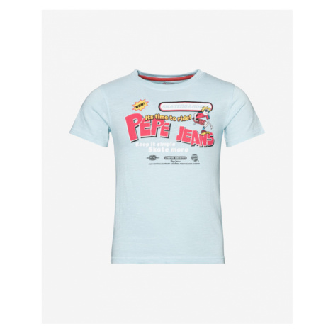 Pepe Jeans August Kids T-shirt Blue