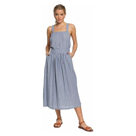 dress Roxy Summer Transparency - BPZ3/True Navy Birdy Stripes - women´s