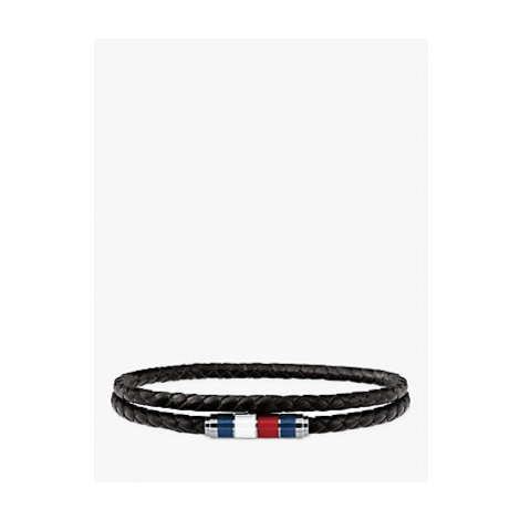 Tommy Hilfiger Men's Double Leather Bracelet