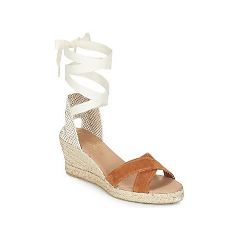 Betty London IDILE women's Sandals in Brown