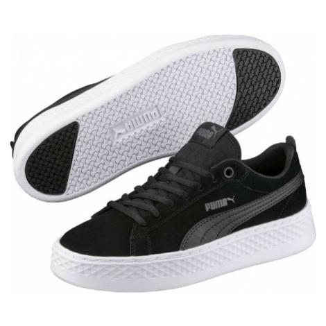 Puma SMASH PLATFORM SUEDE black - Men's sneakers