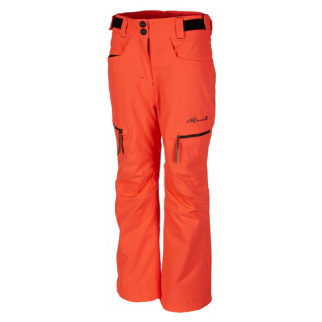 Rehall HARPER-R-JR-RED orange - Kids' ski trousers