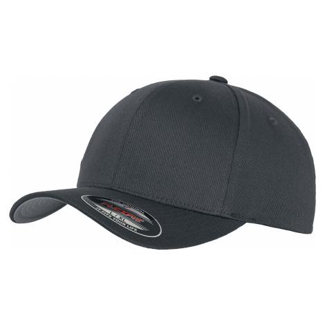 Flexfit - Wooly Combed - Flexcap - dark grey