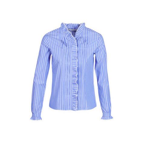 Maison Scotch LONG SLEEVES SHIRT women's Shirt in Blue Scotch & Soda