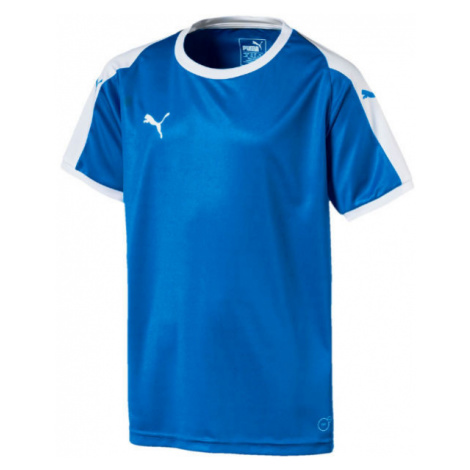 Puma LIGA JERSEY JR blue - Boys' T-shirt
