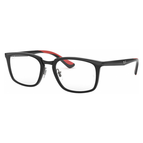 Ray-Ban Rb7148 Man Optical Lenses: Multicolor, Frame: Black - RB7148 5795 52-19