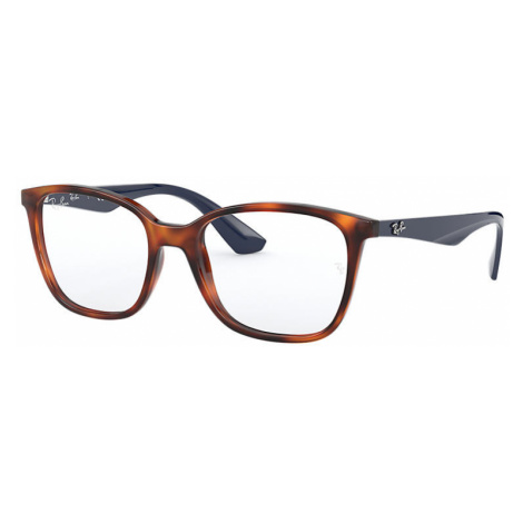 Ray-Ban Rb7066 Unisex Optical Lenses: Multicolor, Frame: Blue - RB7066 5585 54-17