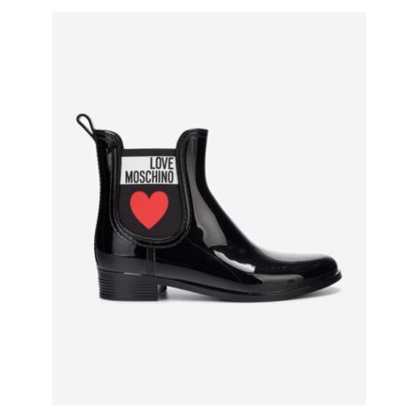 Love Moschino Rain boots Black