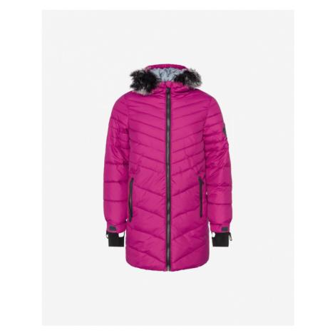 Loap Oksara Kids Jacket Pink Colorful