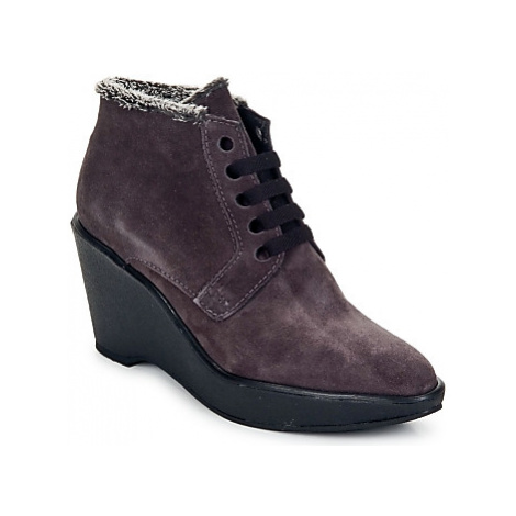 Parallèle LAHO women's Low Boots in Purple