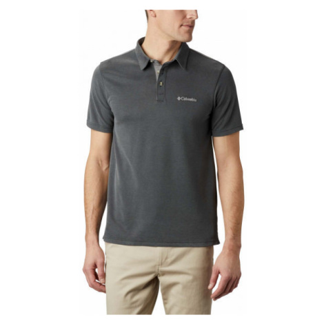 Columbia NELSON POINT POLO black - Men's polo shirt