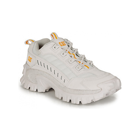 Caterpillar INTRUDER women's Shoes (Trainers) in White