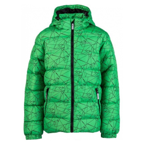 Lewro FANDY green - Kids' quilted jacket
