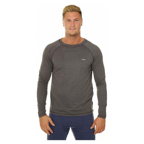 T-Shirt Loap Penty LS - T44XV/Steel Gray/Black Melange - men´s