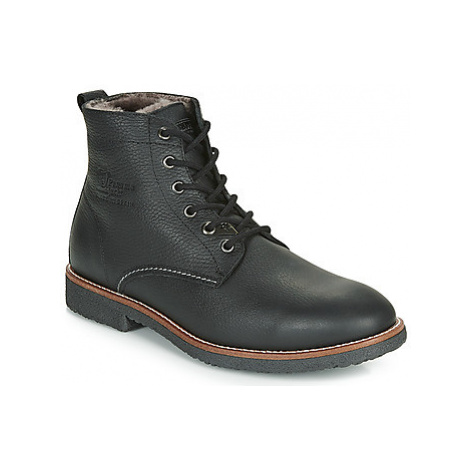 Panama Jack GLASGOW men's Mid Boots in Black