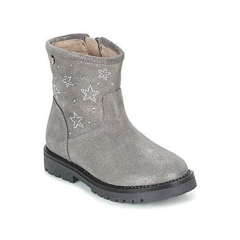 Garvalin COSMOPOLITAN girls's Children's Mid Boots in Grey Garvalín